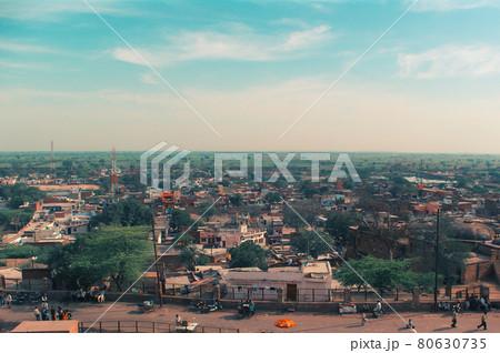 ファテープル・シクリ城から見た風景(インド) 80630735
