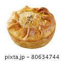 Handmade pie isolated on white background 80634744