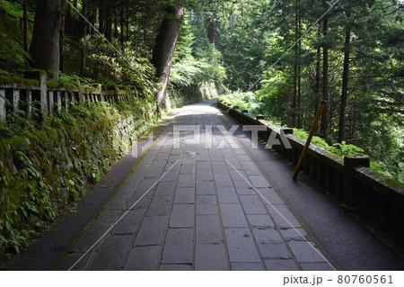 日本 群馬のパワースポット 榛名神社 夏の風景 80760561