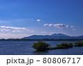 霞ヶ浦から見た筑波山 80806717