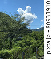ミッキーマウスみたいな可愛い雲 80933910