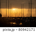 View of boats in the harbor 80942171
