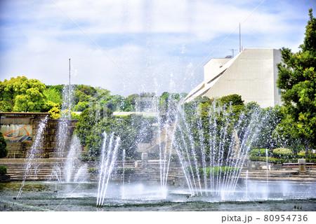 【神奈川】横須賀 三笠公園の噴水 80954736