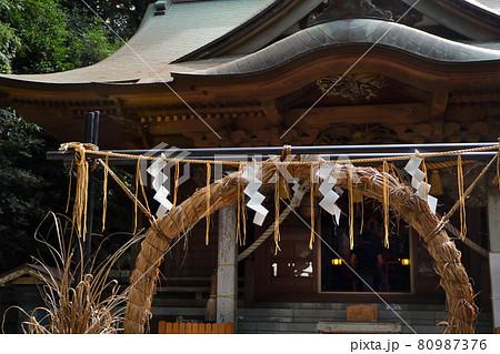 ロマンチック茨城(清い水と空気に包まれて明日を祈る。日立市「泉神社」にて。) 80987376