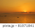 有明海の夜明けの風景 81071841