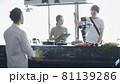 動画配信撮影風景 81139286