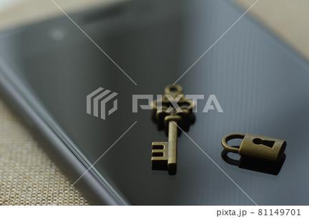 スマホのセキュリティ(個人情報,プライバシー保護) 81149701