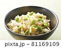 枝豆と油揚げの炊き込みご飯17 81169109