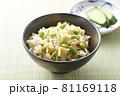 枝豆と油揚げの炊き込みご飯5 81169118