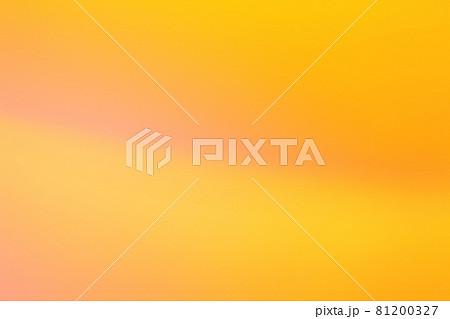 赤色系抽象的背景 オレンジ色とピンク色のグラデーション 81200327