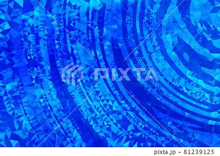 青色のラインの背景素材 テクスチャ 81239125
