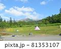 白銀荘からの十勝岳の風景 81353107