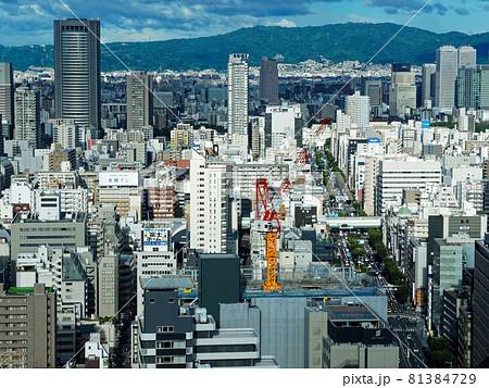 大阪駅前第3ビル 最上階東側の眺望 81384729
