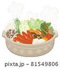 和食★鍋料理 かに鍋 81549806