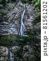 兵庫県・布引の滝 雄滝 81561202