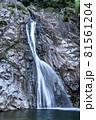 兵庫県・布引の滝 雄滝 81561204