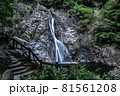兵庫県・布引の滝 雄滝 81561208
