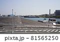 横浜港、大桟橋くじらのせなかと氷川丸 81565250