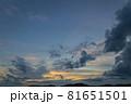 山口県光市虹ケ浜海水浴場から見た風景2021(秋) 81651501