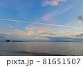 山口県光市虹ケ浜海水浴場から見た風景2021(秋) 81651507
