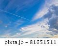 山口県光市虹ケ浜海水浴場から見た風景2021(秋) 81651511