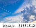 山口県光市虹ケ浜海水浴場から見た風景2021(秋) 81651512
