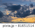 山口県光市虹ケ浜海水浴場から見た風景2021(秋) 81651514
