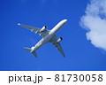 羽田空港を離陸したA350 81730058