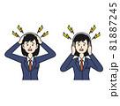頭痛と騒音に悩む女子高生 81887245