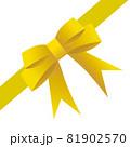 コーナーリボン(ゴールド) 81902570