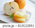 梨_果物・カットフルーツ 81912891