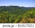 豊平山から見る札幌岳と周辺の山並み 81917021