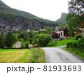 ノルウェー ガイランゲル ジオラマ風 81933693