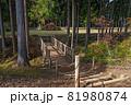 史跡 山中城跡 本丸と北の丸の架橋 81980874