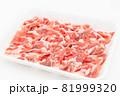 豚ロース薄切り肉 81999320