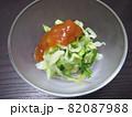 キャベツと大葉の梅肉ドレッシングサラダ 82087988