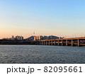 韓国ソウル 漢江(ハンガン)に浮かぶセビッソム some sevit 82095661