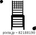 木で作られた椅子のイメージ「シルエット」 82188190