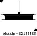 和室の電気のイメージ「シルエット」 82188385