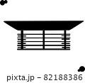 和室のミニライトのイメージ「シルエット」 82188386