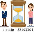 人生の残り時間について考える夫婦 82193304