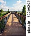 Observation deck in Florida park 82209292