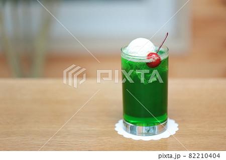 クリームソーダ (食品サンプル) 82210404