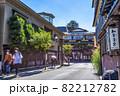 神奈川県箱根湯本 温泉街の風景 82212782