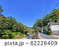神奈川県箱根湯本 温泉街の風景 82226409