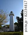 青空と大津岬灯台 82234817
