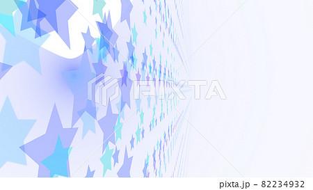 CGスター 多数の星形で構成された背景素材 光源あり 82234932