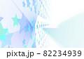 CGスター 多数の星形で構成された背景素材 光源あり 82234939