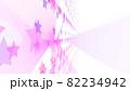 CGスター 多数の星形で構成された背景素材 光源あり 82234942
