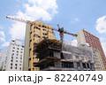サンパウロの工事中のビルと青空 ブラジル 82240749